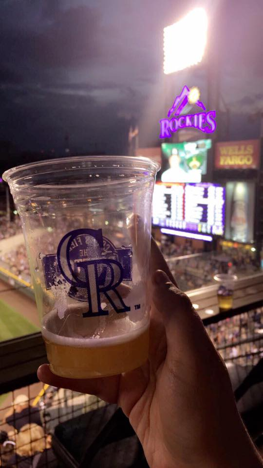 Coors Field rooftop patio