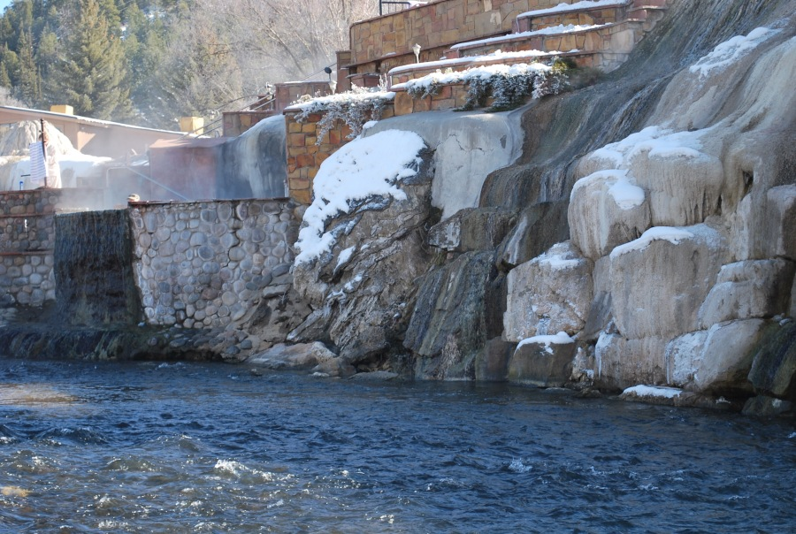 River in Pagosa Springs