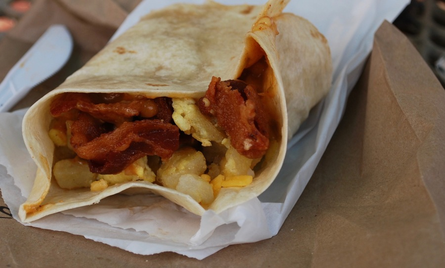 The Original Chubbys breakfast burrito