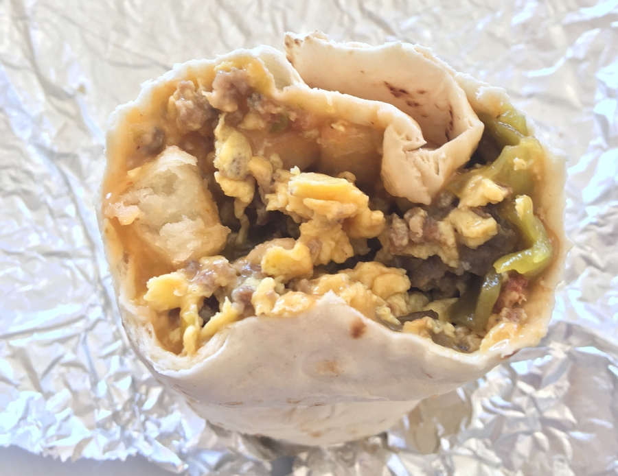 Best breakfast burritos in Denver
