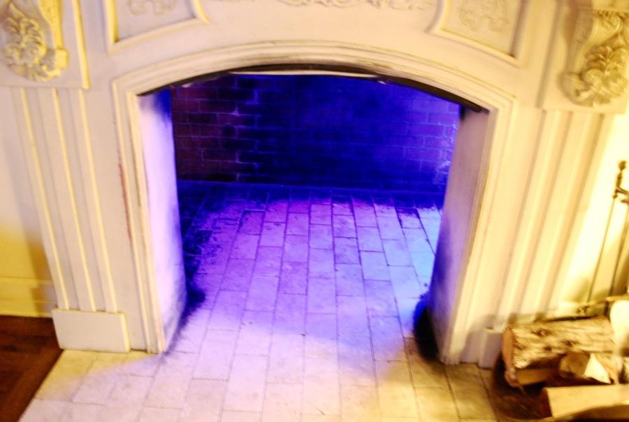 Crawl through fireplace santa fe