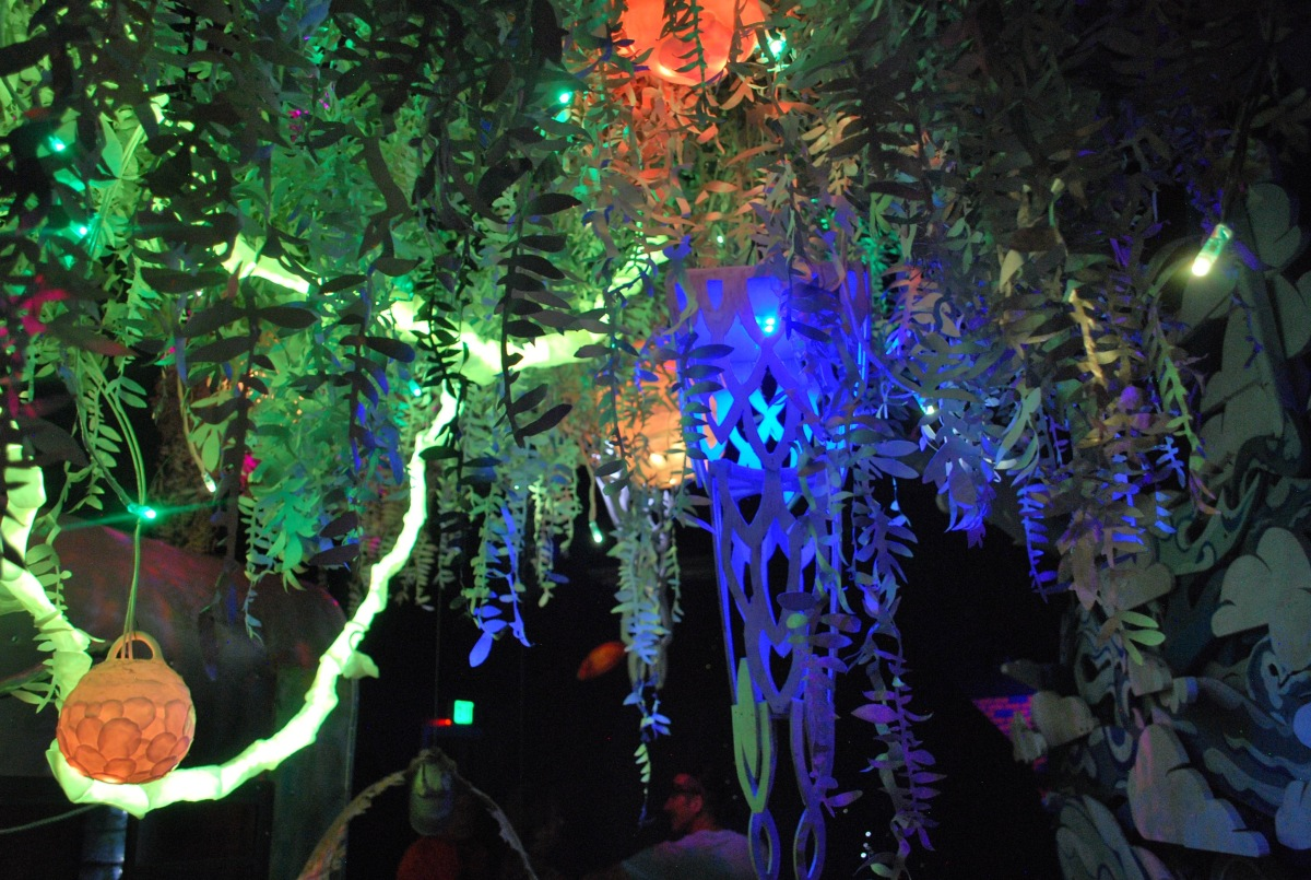 Meow Wolf ceiling