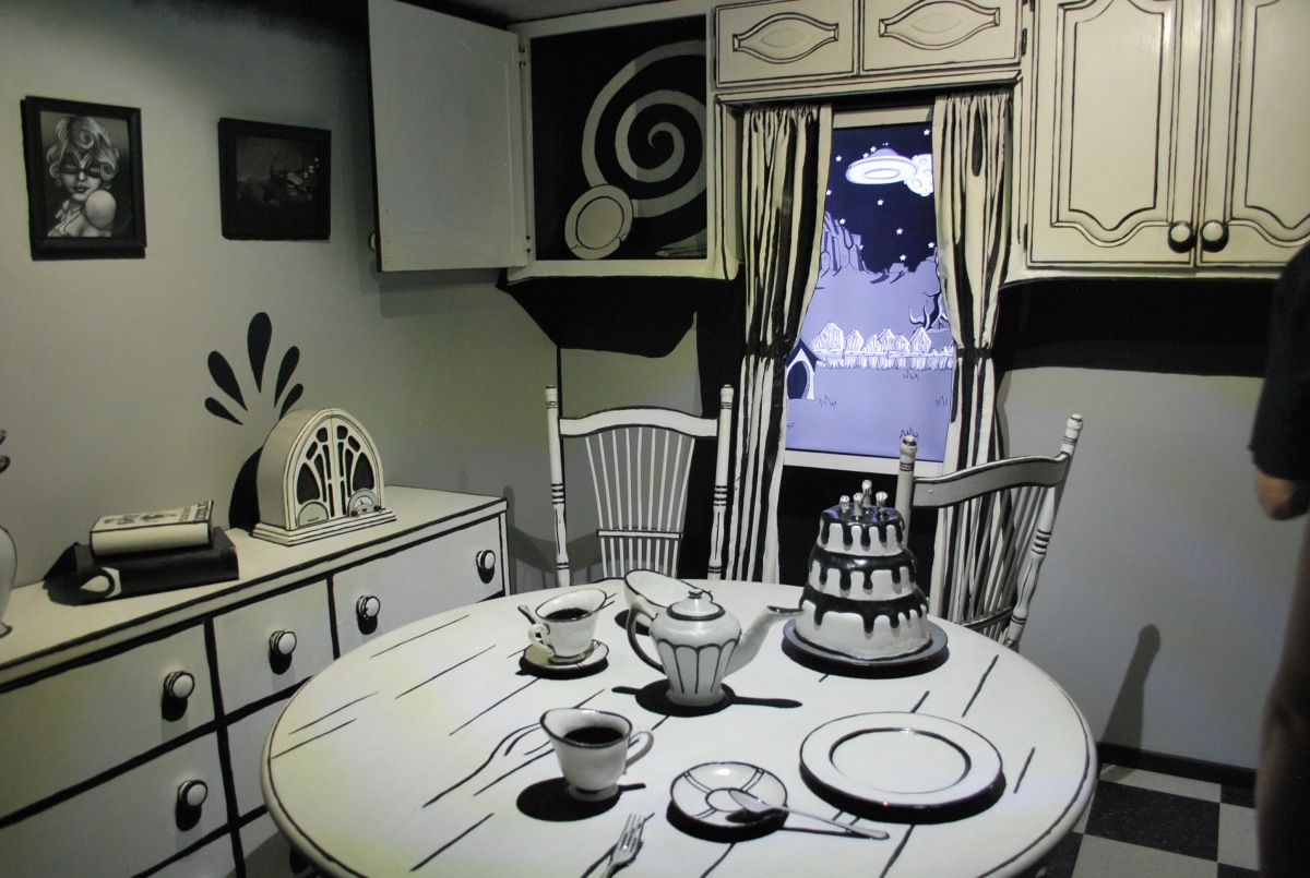 Meow Wolf room