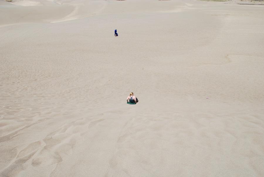 Sand Dunes in Colorado