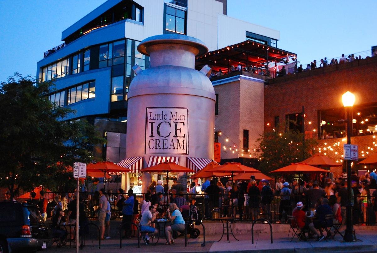 Little Man Ice Cream Denver Colorado