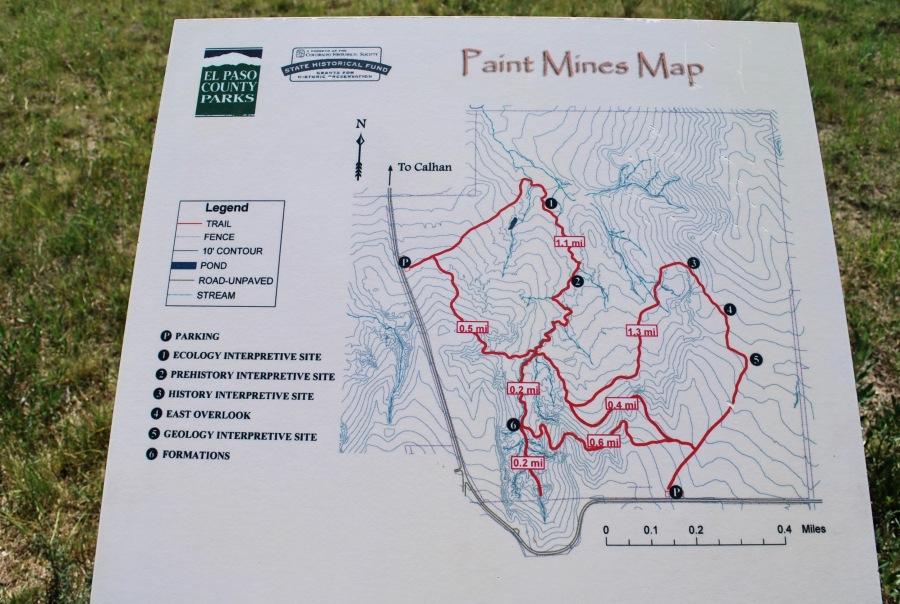 Paint Mines Map