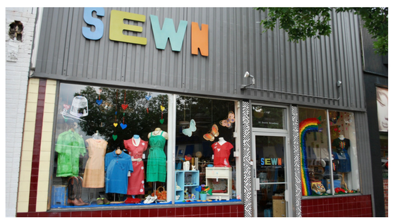 Sewn South Broadway