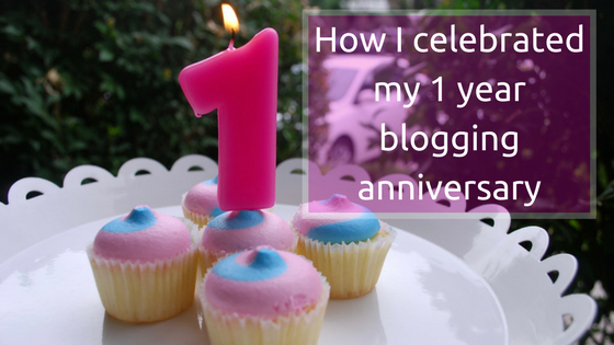 Celebrating my 1 year blogging anniversary