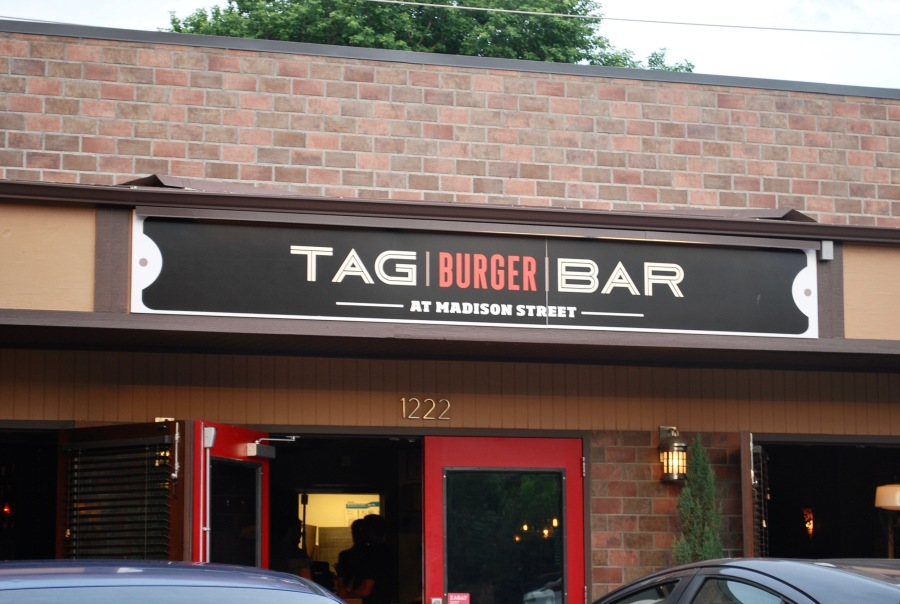 TAG Burger Bar Madison Street