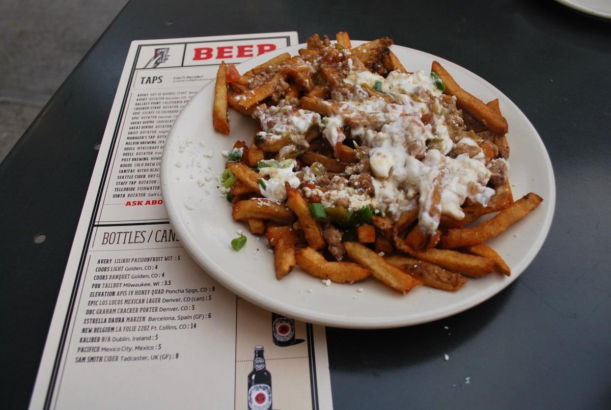 Best Green Chili Fries in Denver
