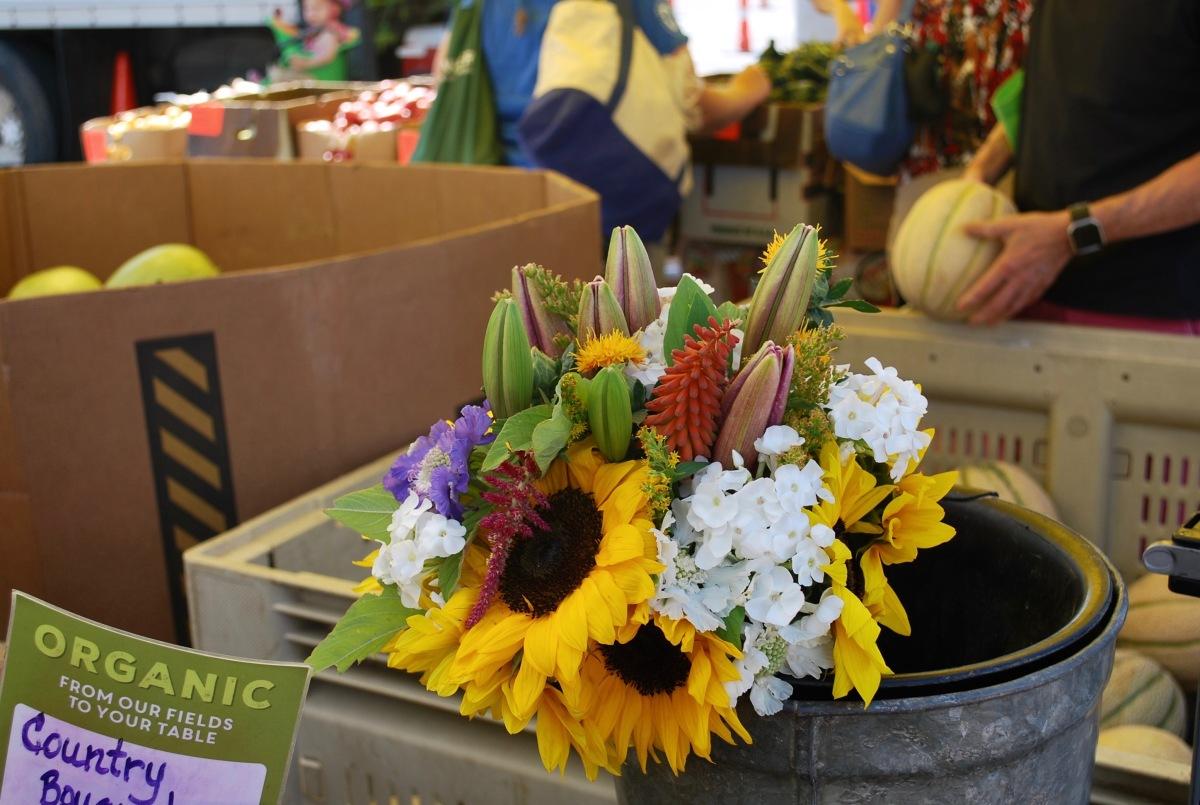 Denver Farmers Market flowers