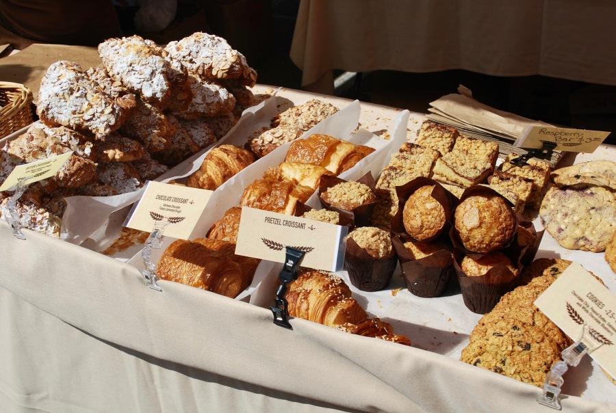 Denver Farmers Market pastries
