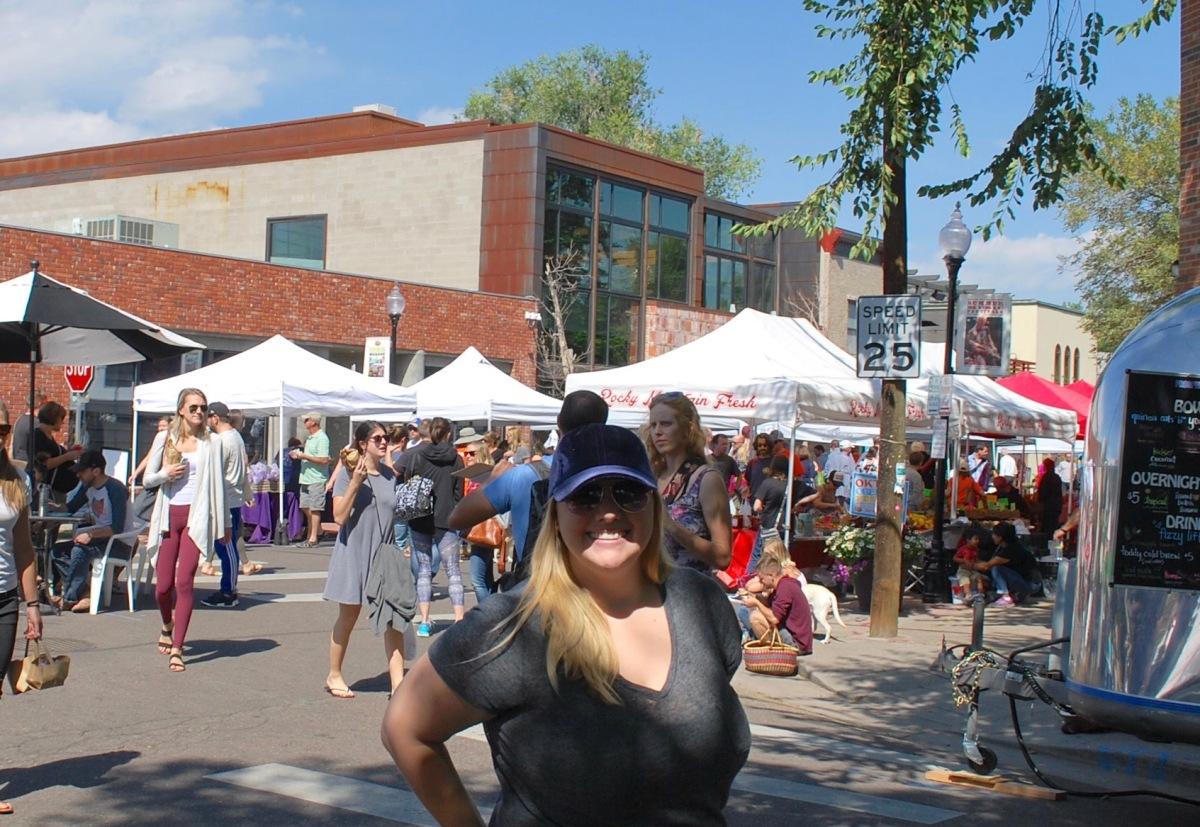 Denver Farmers Market attire