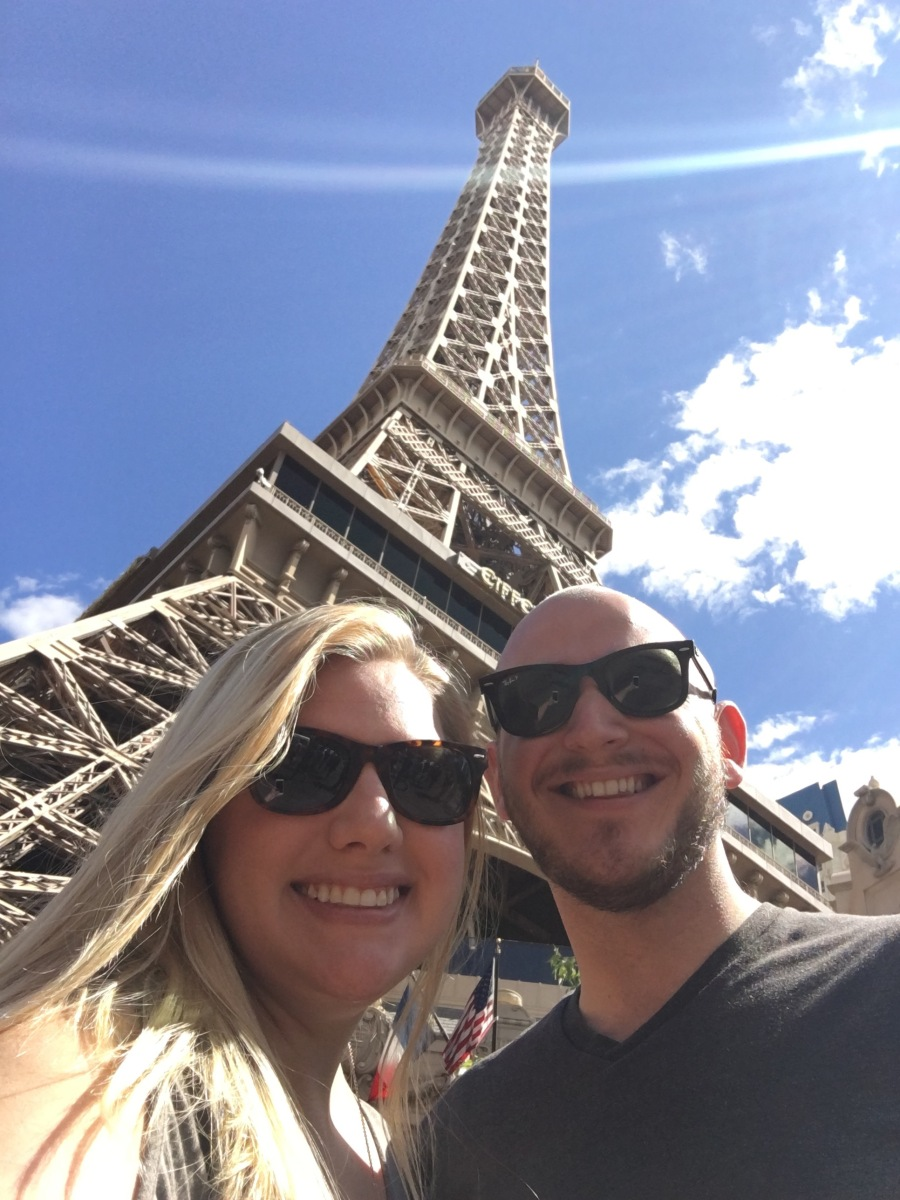 The Eiffel Tower in Las Vegas, Nevada