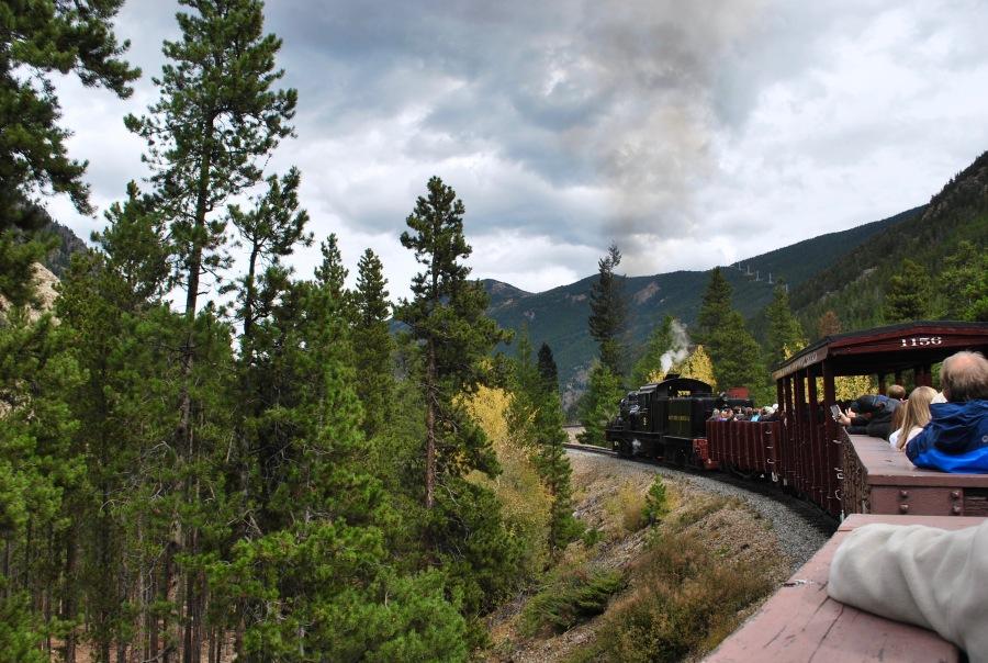 Georgetown loop railroad train