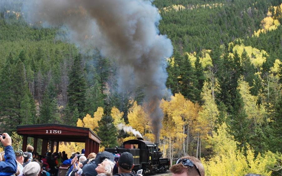 Trains near Denver Colorado