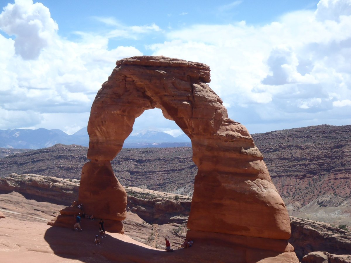 Delicate Arch in Grand County Utah