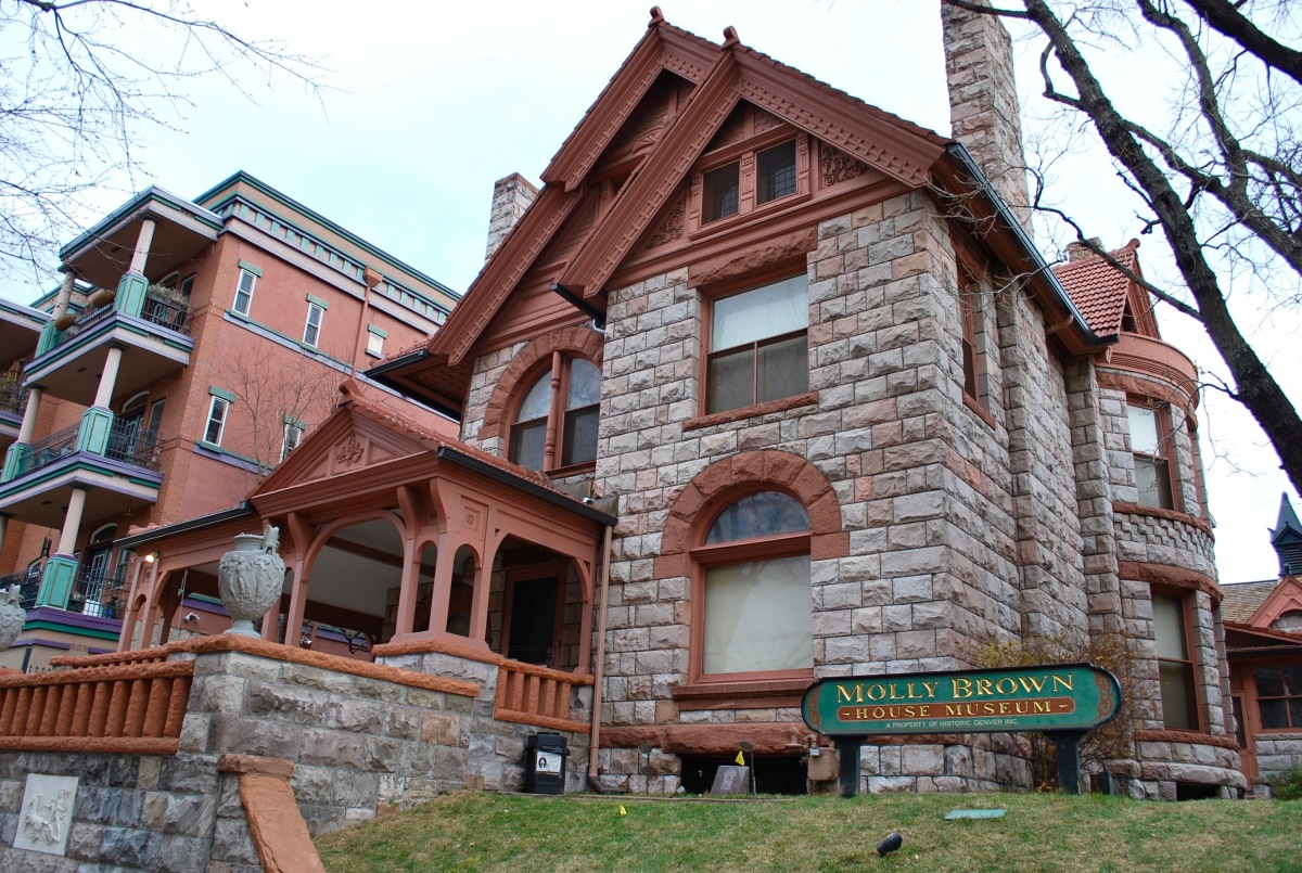 Molly Brown House tours
