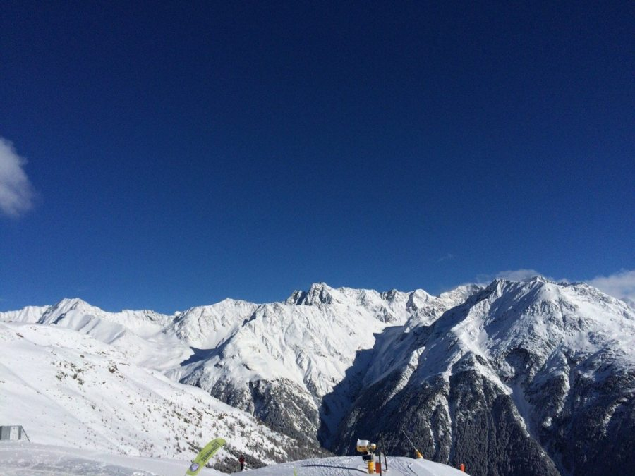 Huben Über Längenfeld, Tirol, Austria