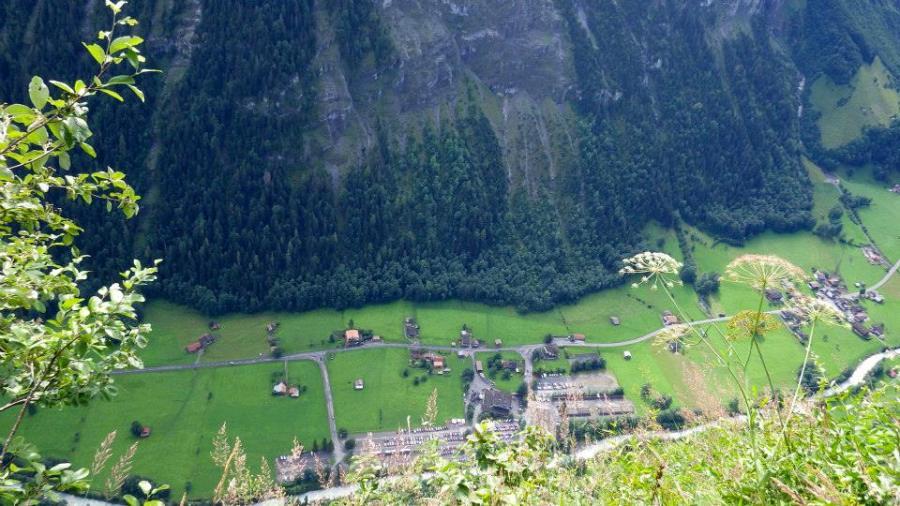 Via Ferrata in Murren, Switzerland