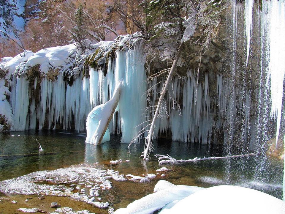 Hanging Lake Winter