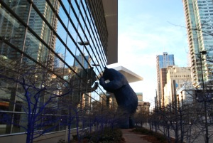 Where is the big blue bear in Denver