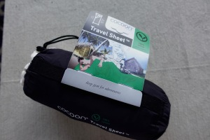 Cocoon sleep sheet for travel