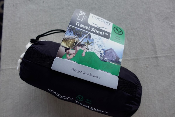 Cocoon sleep sheet for travel
