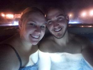 Iron Mountain Hot Springs Night