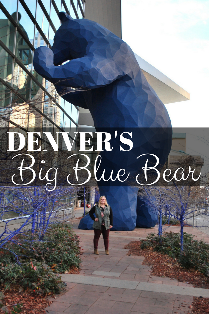 Denver's big blue bear Colorado