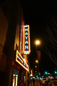 The Mayan Theatre History