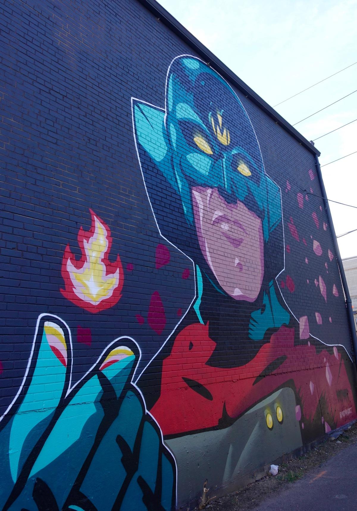 MDMN mural street art Denver