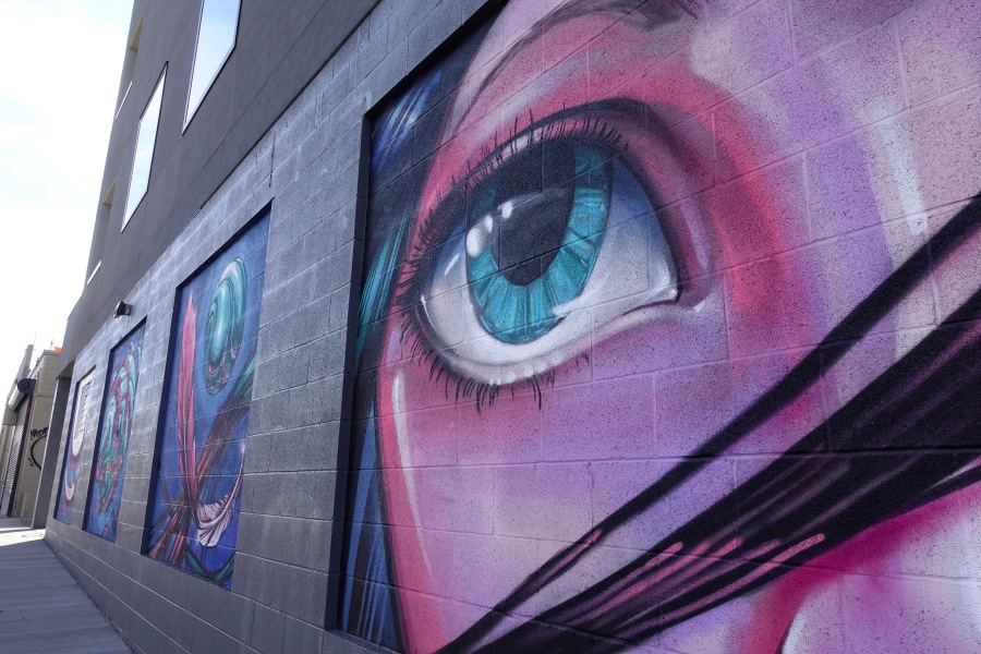 Denver murals in RiNo District eye art