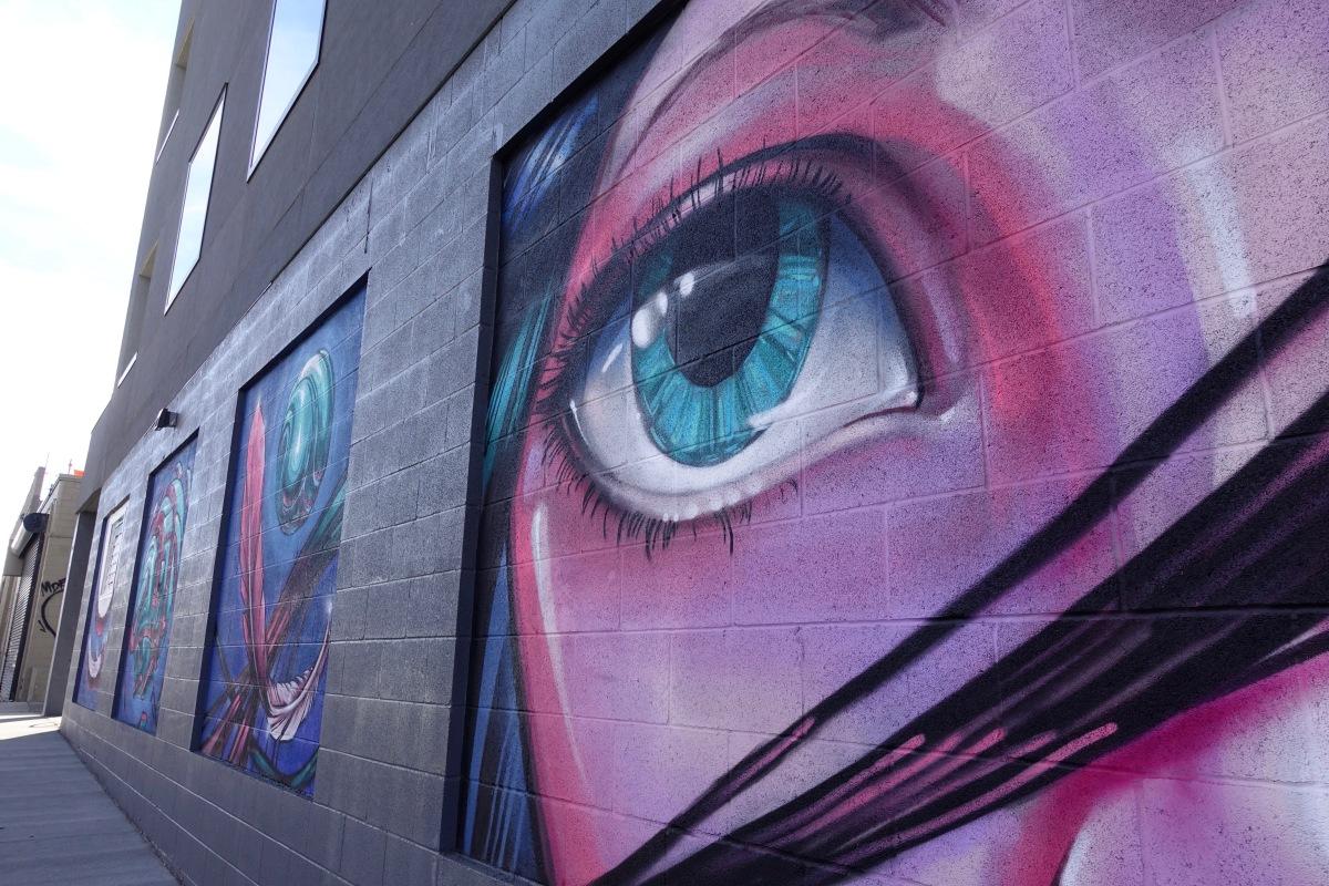 Denver murals in RiNo District eye art