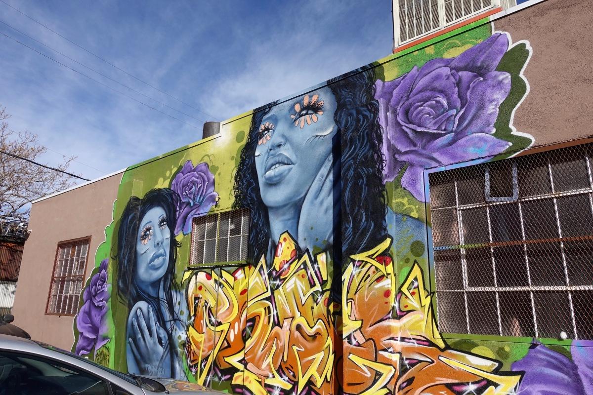 31st and larimer wall mural