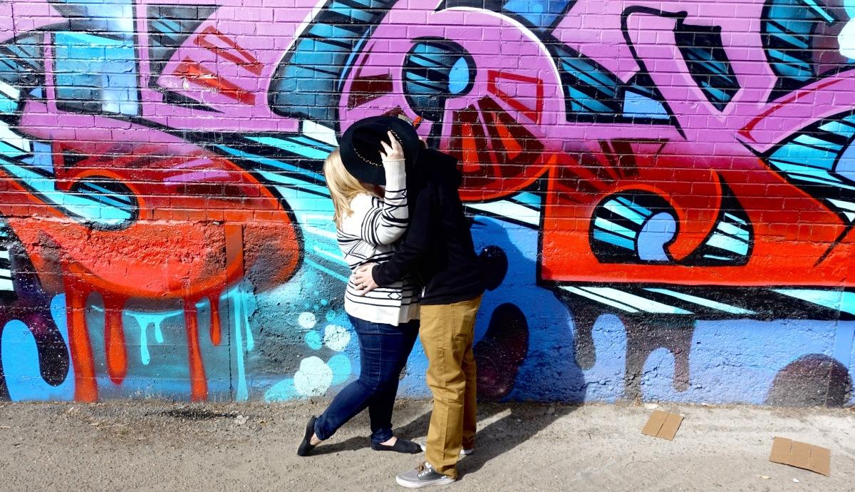 28th Avenue & Larimer Street street art rino denver