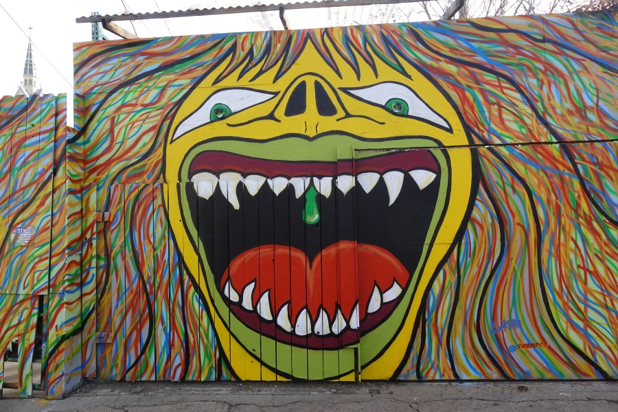 Swamp Co mural