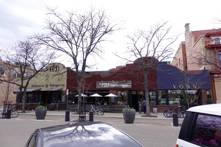 Breweries in Boulder near Pearl Street