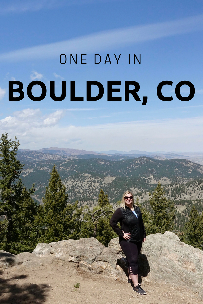 One Day In Boulder, CO