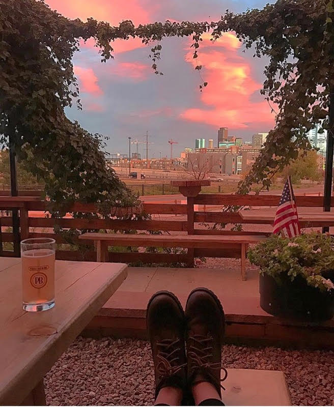 Prost Brewing view of Denver